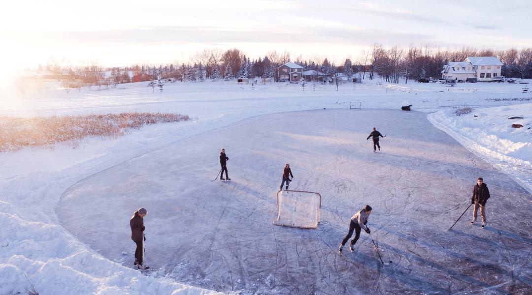 Experience Arrowhead Park on Ice