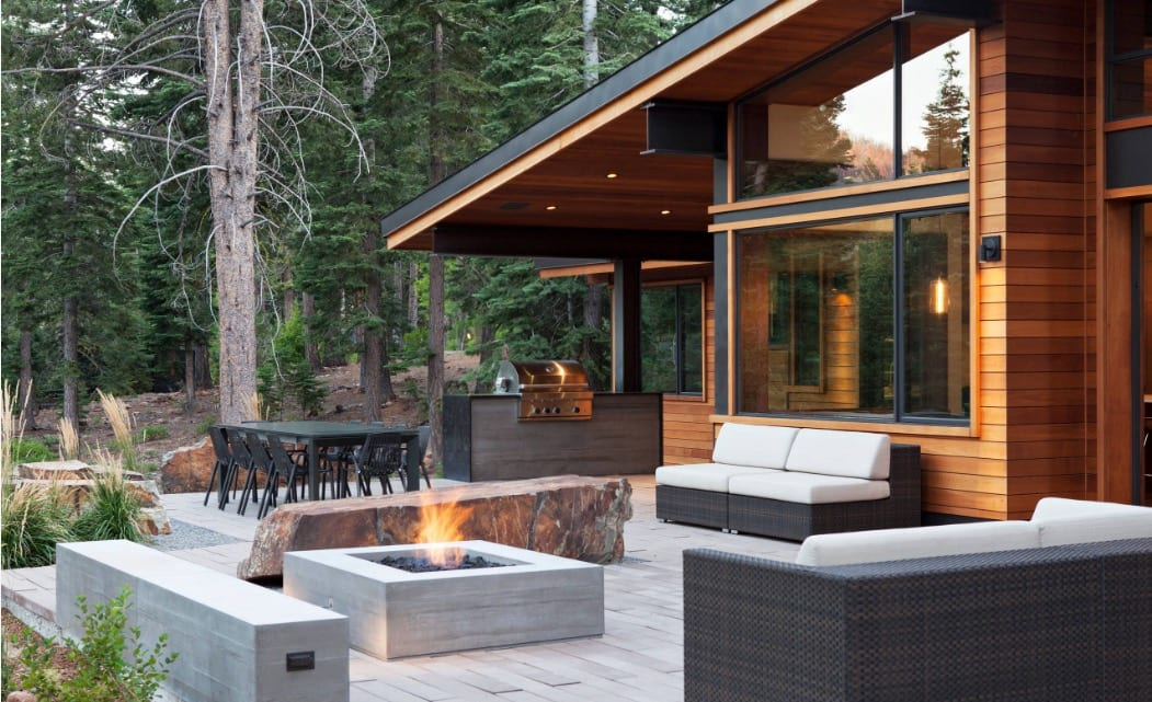 Bring Your Muskoka Cottage Living Room Outside