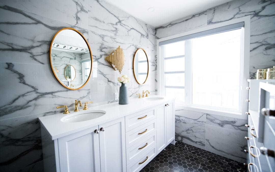 DIY-Friendly Bathroom Makeovers
