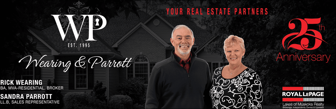 Rick Wearing & Sandra Parrott - Royal Lepage - Lakes of Muskoka Brokerage